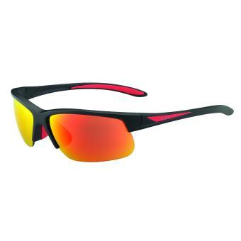 Lunettes de soleil Sport Vélo Bollé Breaker Noire et rouge 7c583bc7bc00