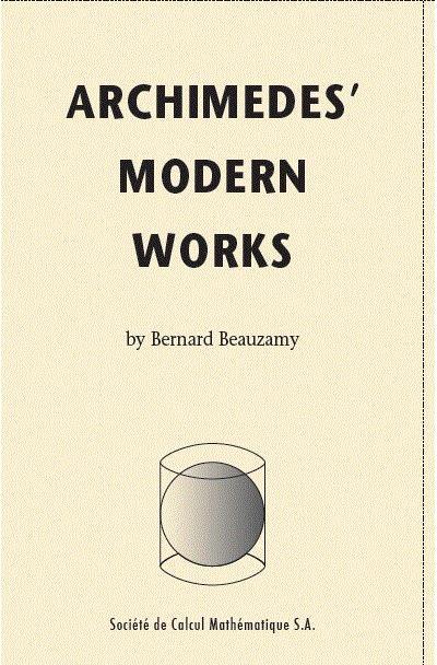 Archimedes' modern works