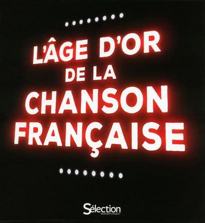 L'âge d'or de la chanson française 4 CD + 1 DVD