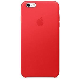 Coque Apple en Cuir pour iPhone 6 Plus et 6s Plus Rouge