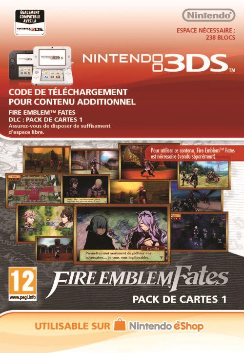Code de téléchargement Fire Emblem Fates Nintendo 3DS