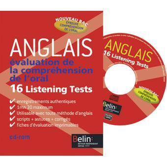 Evaluation de l'oral anglais