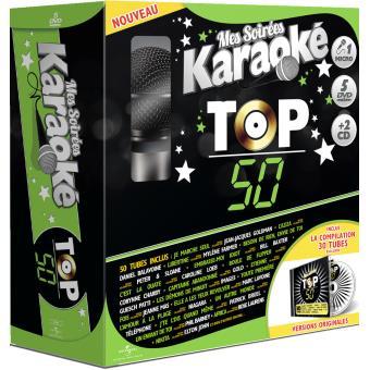 Mes soirées Karaoké Top 50 Coffret DVD