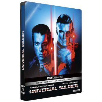 Universal SoldierUniversal Soldier Steelbook Blu-ray 4K Ultra HD