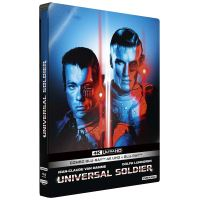 Universal Soldier Steelbook Blu-ray 4K Ultra HD
