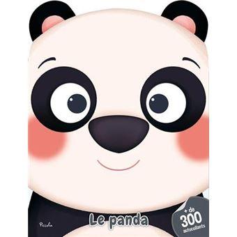 300 autocollants le panda