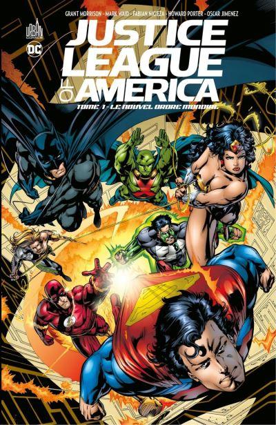 Justice League of America - Tome 1 - Le nouvel ordre mondial - 9791026835646 - 14,99 €