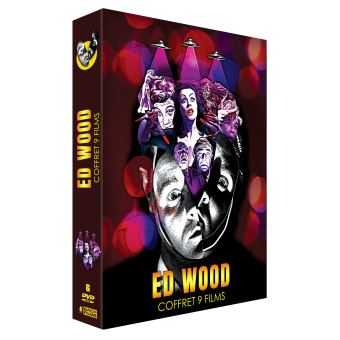 Coffret Ed Wood 9 Films DVD