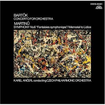 Concerto pour Orchestre ; Symphonie n.6 - Remasterisé