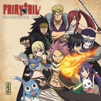 Calendrier Manga.Fairy Tail Calendrier 2017 Fairy Tail