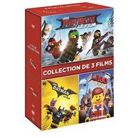 Coffret Films Lego 3 films DVD
