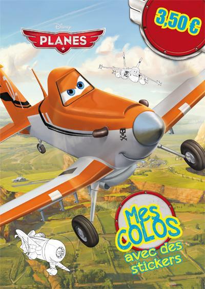 Planes -  : Planes, MES COLOS AVEC STICKERS