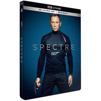 James BondSpectre Steelbook Blu-ray 4K Ultra HD