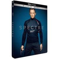 Spectre Steelbook Blu-ray 4K Ultra HD