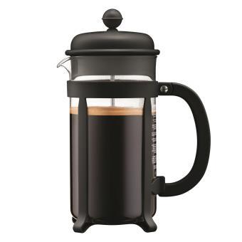 Bodum Cafetiere Met Glazen Inzetkan Zwart - 1 L