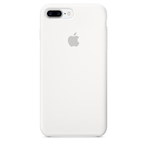 Coque en silicone Apple pour iPhone 7 Plus Blanc