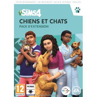 Pack D Extension The Sims 4 Chiens Et Chats Pc Jeux Video Achat Prix Fnac