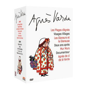 Coffret Varda 6 films DVD