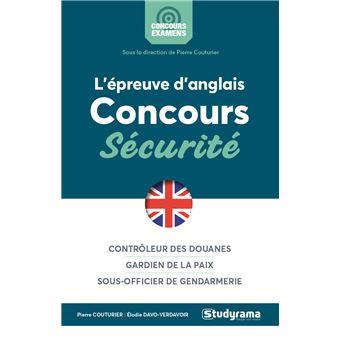 L'épreuve d'anglais concours Sécurité