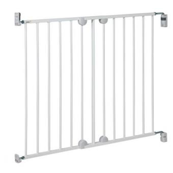 barri re de porte safety first wall fix extending m tal white produits b b s fnac. Black Bedroom Furniture Sets. Home Design Ideas