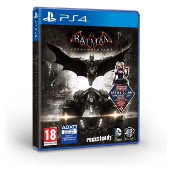 batman arkham knight ps4 sur playstation 4 jeux vid o achat prix fnac. Black Bedroom Furniture Sets. Home Design Ideas