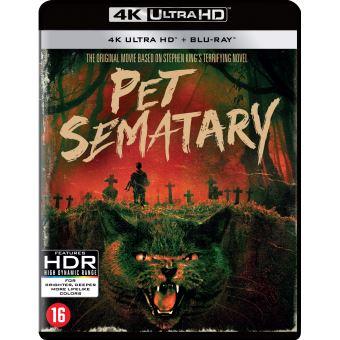 PET SEMATARY (REMASTERED) -BIL-BLURAY 4K (SIMETIERRE)