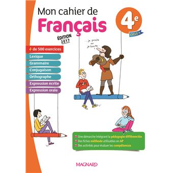 Mon Cahier De Francais 4eme