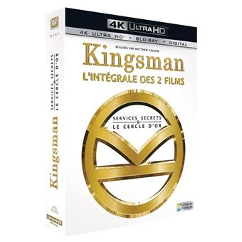Kingsman, services secretsCoffret Kingsman : Services Secrets et Kingsman : Le Cercle d'or Blu-ray 4K Ultra HD