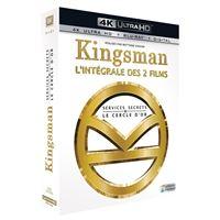 Coffret Kingsman : Services Secrets et Kingsman : Le Cercle d'or Blu-ray 4K Ultra HD