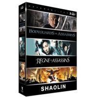 Bodyguards et assassins - Le  Règne des assassins - Shaolin : La légende des moines guerriers - Coffret