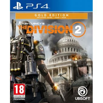 TOM CLANCY'S THE DIVISION 2 GOLD EDIT. FR/NL PS4
