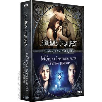 2 sagas fantastiques : Sublimes créatures, The Mortal Instruments : la Cité des Ténèbres DVD