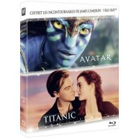 Coffret Titanic Avatar Blu-ray