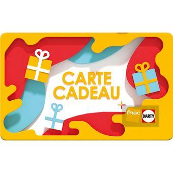 E Carte Cadeau Fnac Darty Prisme Top Prix Fnac