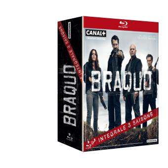 BraquoL'intégrale des 3 saisons Blu-Ray