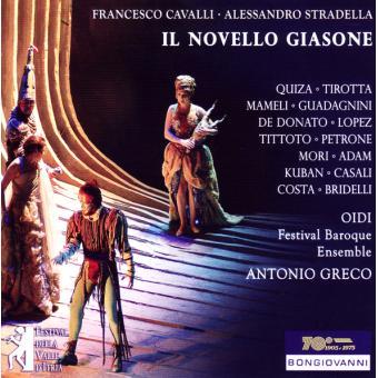 IL NOVELLO GIASONE/3CD
