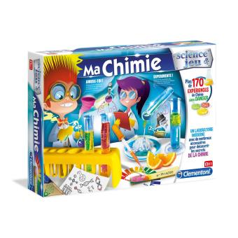 Boîte de chimie Clementoni Ma Chimie
