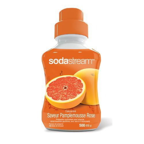 Concentré pour machine à gazéifier Sodastream Pink Grapefruit 500 ml