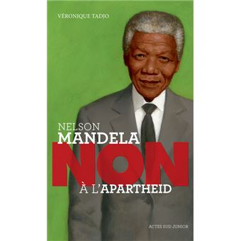 Nelson Mandela Non A L Apartheid Broche Veronique Tadjo