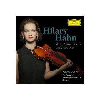 Mozart, Concerto pour violon n° 5 en la majeur K 219 - Henri Vieuxtemps, Concerto pour violon n° 4 en ré mineur, opus 31