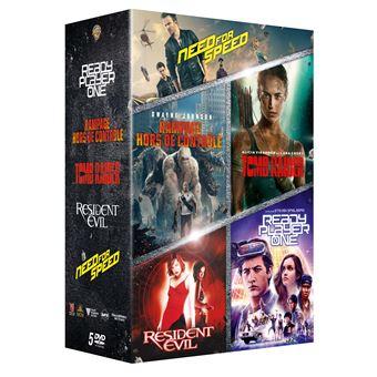 Coffret Films issus de Jeux vidéo DVD