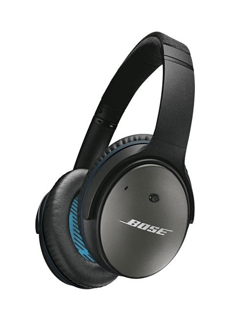 Casque à réduction de bruit Bose QuietComfort 25 Noir pour Apple