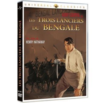 Les Trois Lanciers du Bengale DVD