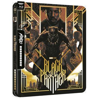 Black-Panther-Steelbook-Mondo-Blu-ray-4K