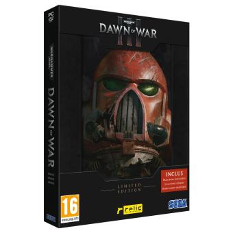Warhammer 40000 Dawn of War III Edition Limitée PC