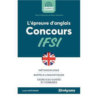 L'épreuve d'anglais concours IFSI