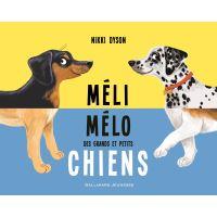 Méli-mélo des grands et petits chiens
