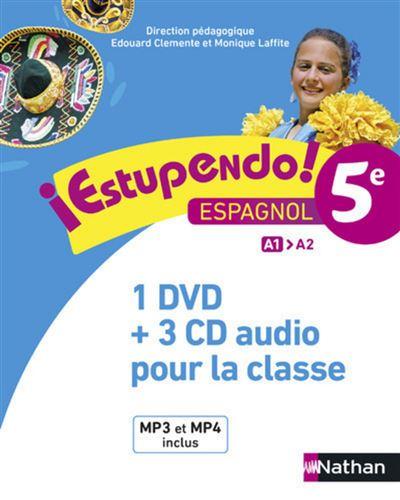 Estupendo 5è Coffret CD + DVD Classe 2016
