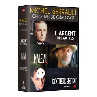 L'argent des autres - Malevil - Docteur Petiot Coffret 3 DVD