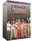 Orange Is the New Black - Intégrale saisons 1 à 4 [DVD + Copie digitale] (DVD)